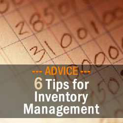 6 Tips for Inventory Management