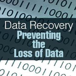 Data Recovery, Preventing the Loss of Data