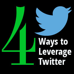 Four Ways to Leverage Twitter – Social Media Tips for Business