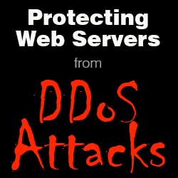Protecting Web Servers from DDoS Attacks