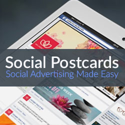 Social Postcards – Social Advertising Made Easy
