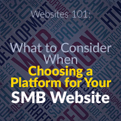 Websites 101: What to Consider When Choosing a Platform for Your SMB Website