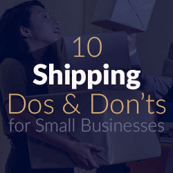 Shipping Do's and Don'ts - Excellent List
