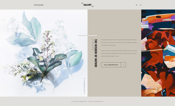 Graphic Design Trends - Asymmetrical Layouts