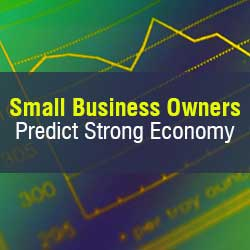 Small business owners are optimistic about the year ahead despite two chief concerns