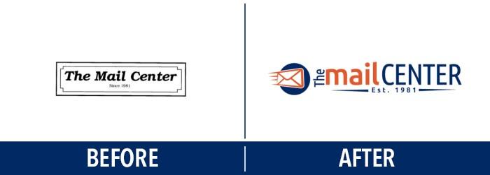 Logo Design Trends - Before & After