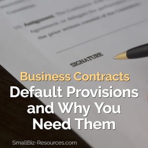 Business Contracts Best Practices