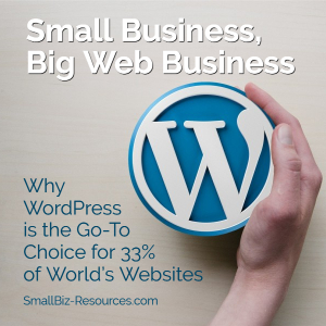 Small Business Wordpress Website